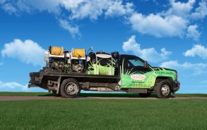 Secure Lawn Services Truck