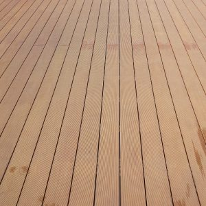 imitate wooden deck
